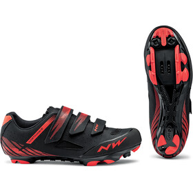 Northwave Origin Scarpe Uomo, black/red